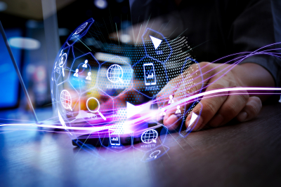 digital art of technology